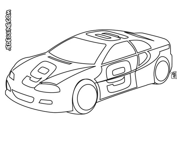 dessin animé 2014 voiture de course