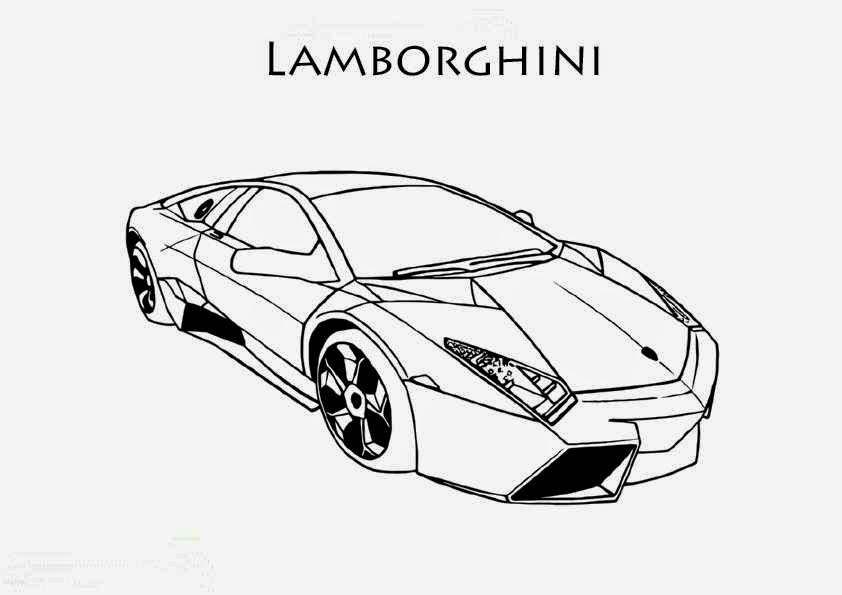 dessin voiture de course imprimer