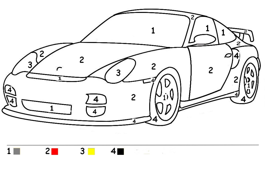 coloriage voiture de course hot wheels