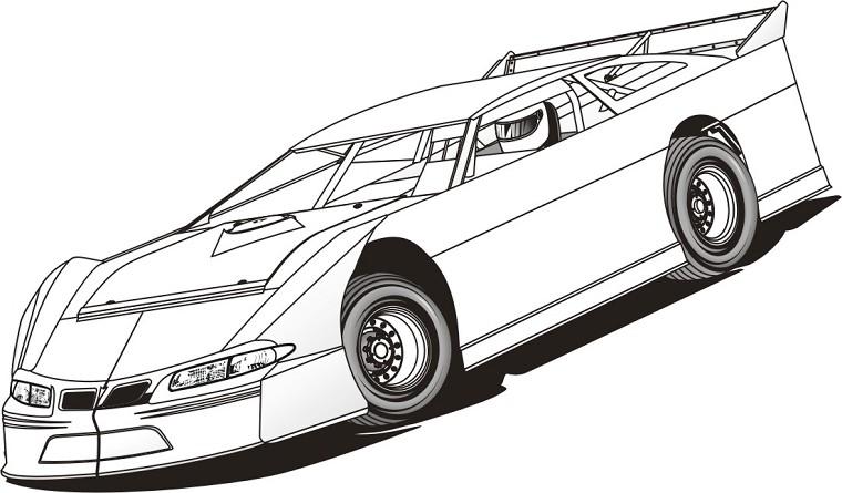 coloriage de voiture de tuning en ligne