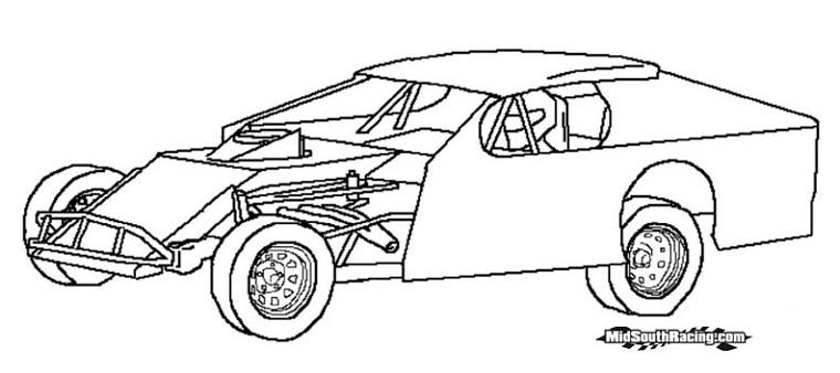 Dessin de voiture tuning facile a dessiner - Dessin a colorier de voiture ...