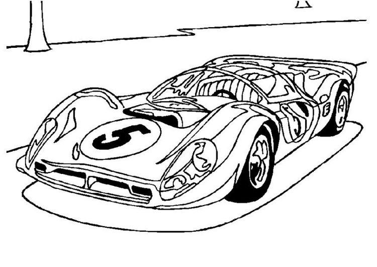 coloriage voiture à imprimer gratuit