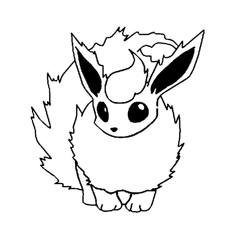 16 dessins de coloriage voltali pokemon imprimer - Image de pokemon ...