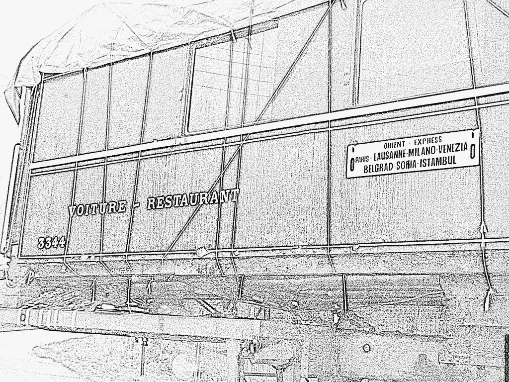 dessin wagon de train