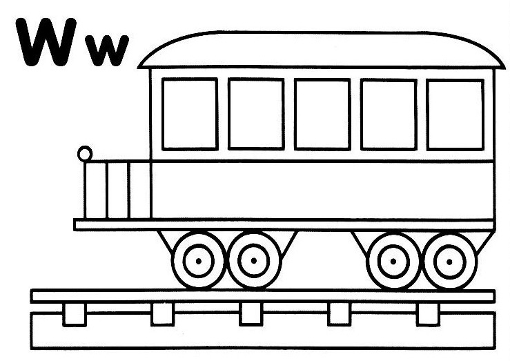 coloriage locomotive et wagons