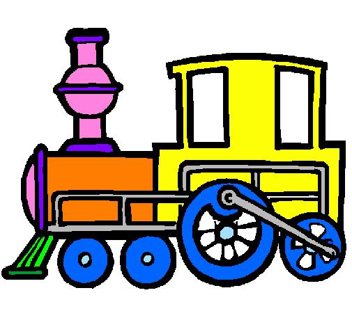 dessin en ligne wagon