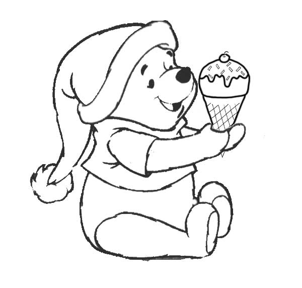 17 dessins de coloriage winnie l 39 ourson b b imprimer - Coloriage d ourson a imprimer ...