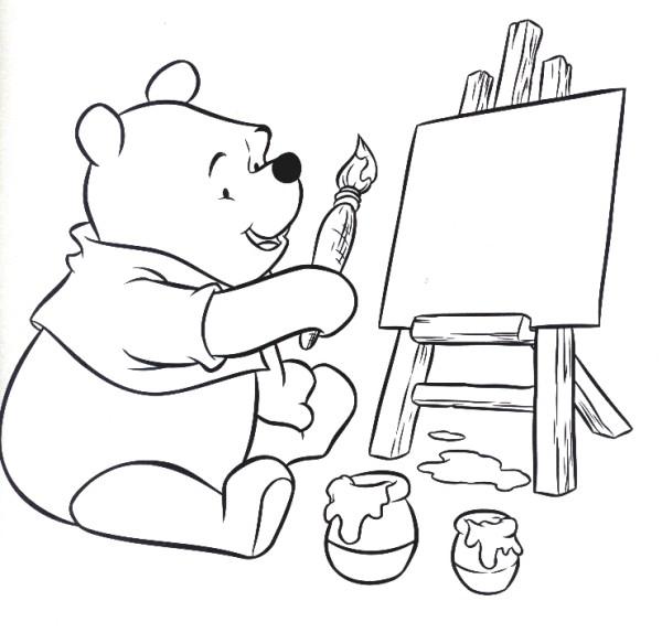 20 dessins de coloriage winnie l 39 ourson en ligne gratuit - Jeux de winnie l ourson gratuit ...