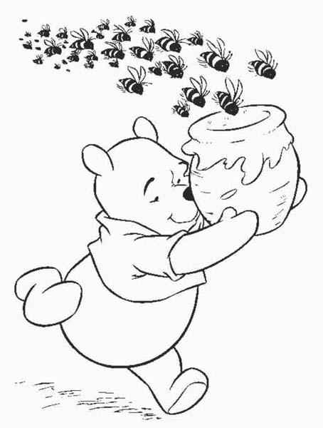 20 dessins de coloriage Winnie L\'ourson En Ligne à imprimer