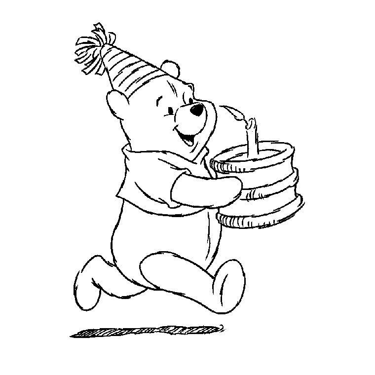 dessin winnie l'ourson alphabet