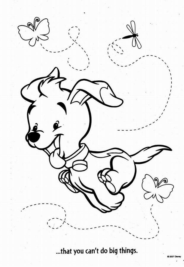 Coloriage Alphabet Winnie L Ourson Imprimer