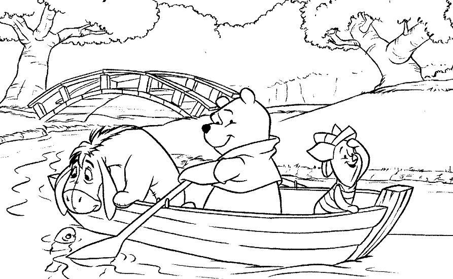 jeux de coloriage à dessiner gratuit winnie l'ourson