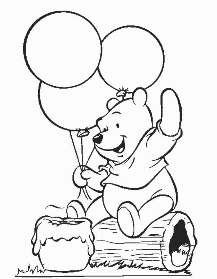 Dessin gratuit alphabet winnie l 39 ourson - Comment dessiner winnie l ourson ...
