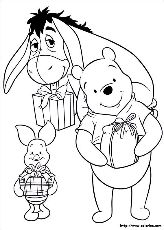 Coloriage Winnie Lourson Anniversaire A Imprimer.Coloriage A Dessiner Winnie L Ourson Anniversaire A Imprimer