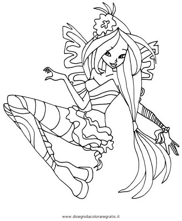 7 dessins de coloriage winx club sirenix imprimer - Winx club dessin ...
