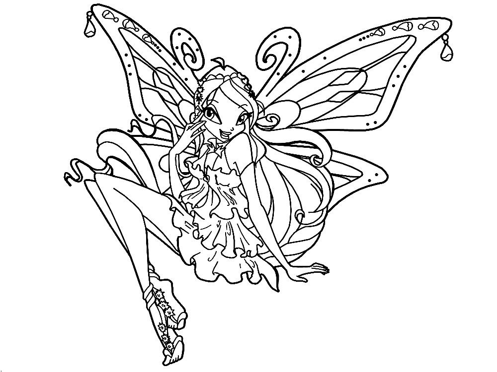 Dessin winx club enchantix - Coloriage winx bloom ...