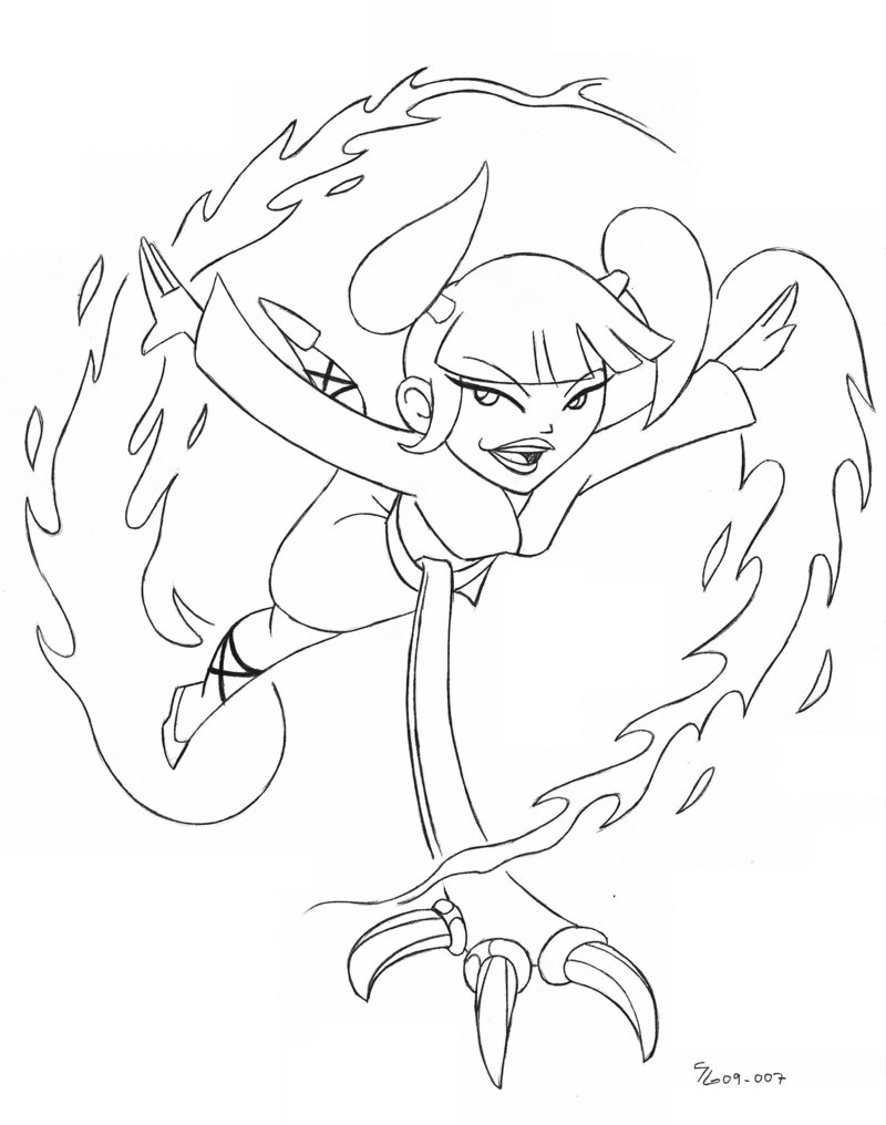dessin de xiaolin chronicles