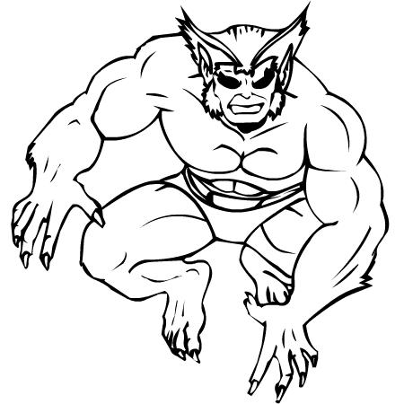 dessin de x-men 2