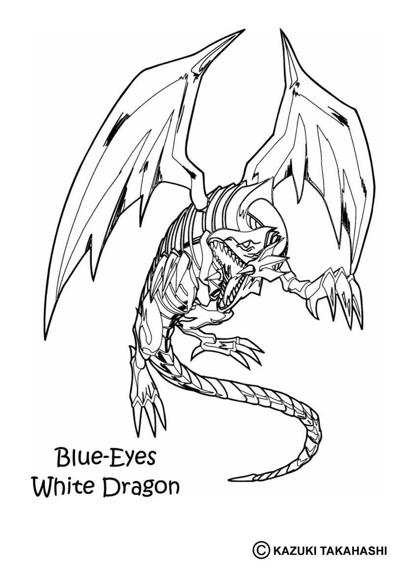 12 dessins de coloriage Yu Gi Oh