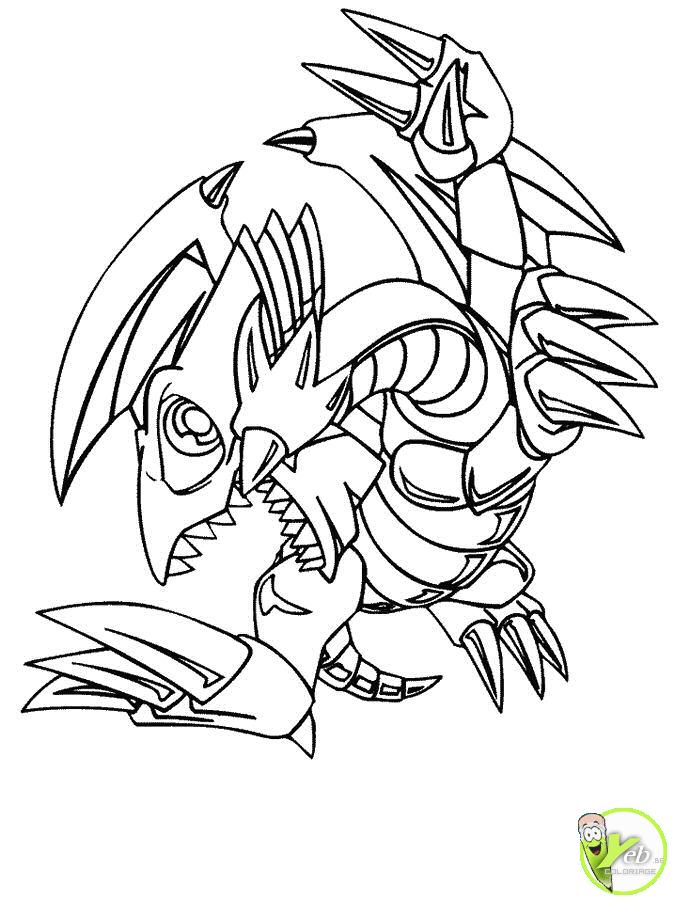 imprimer coloriage yu gi oh