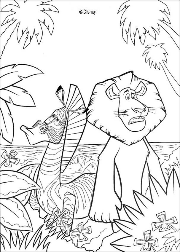 imprimer coloriage à dessiner zebre