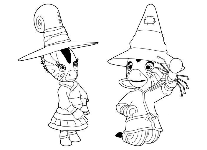 dessin zebre coloriage gratuit