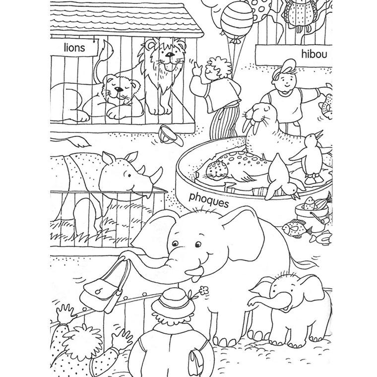 Dessin de zoo a imprimer - Caricature gratuite en ligne ...