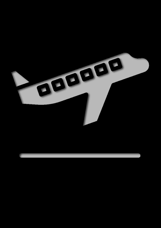 Pochoir Aeroport Départs