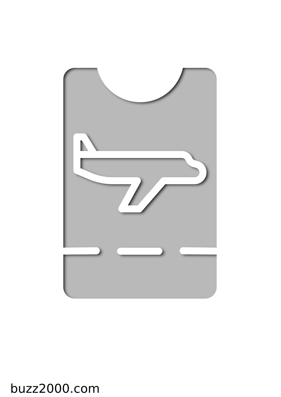 Pochoir Aeroport Passer
