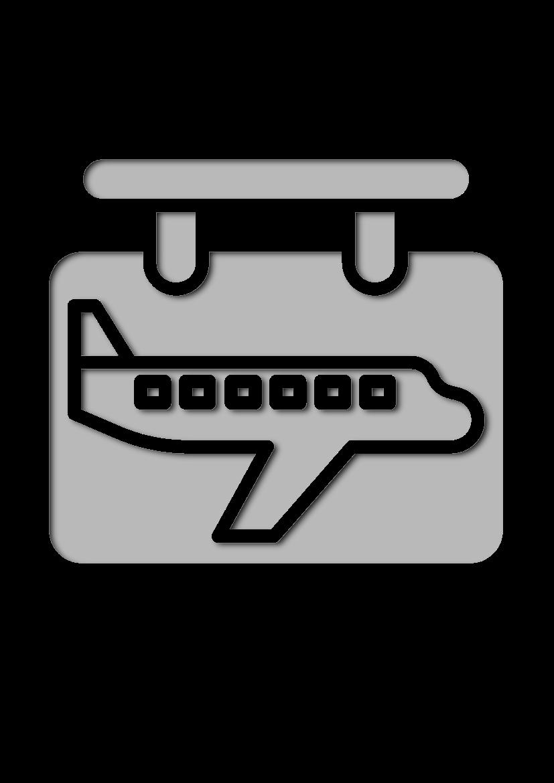 Pochoir Aeroport Signe