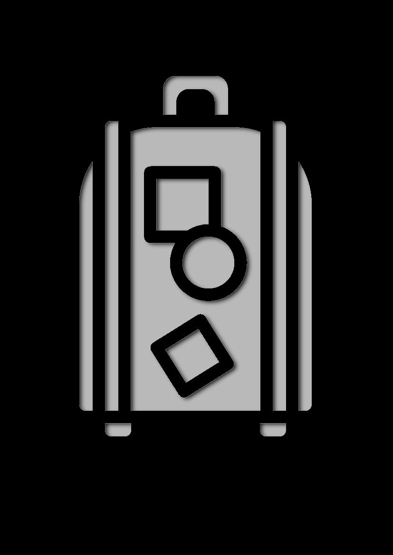 Pochoir Aeroport Bagage