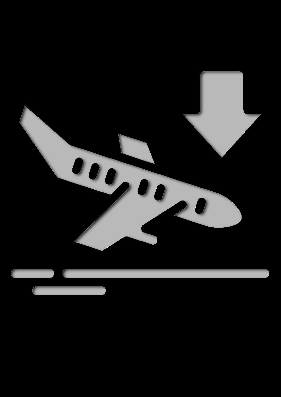 Pochoir Aeroport Arrivée