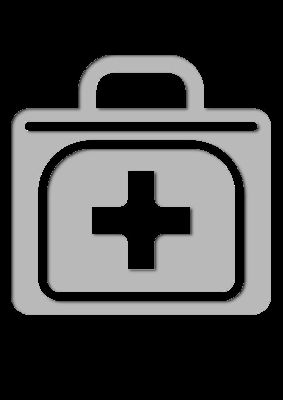 Pochoir Aeroport Trousse de premiers secours