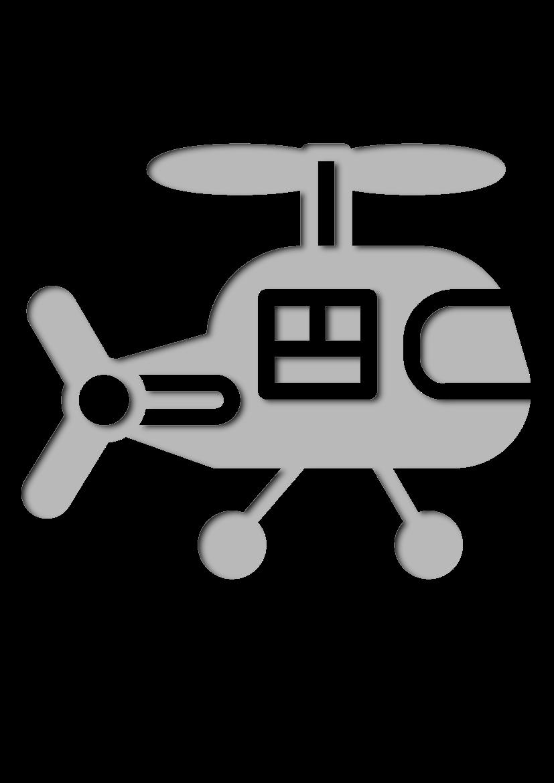 Pochoir Bebe H�licopt�re