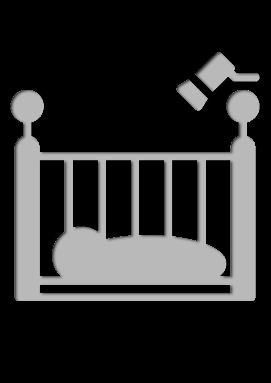 Pochoir Bebe Lit de bébé