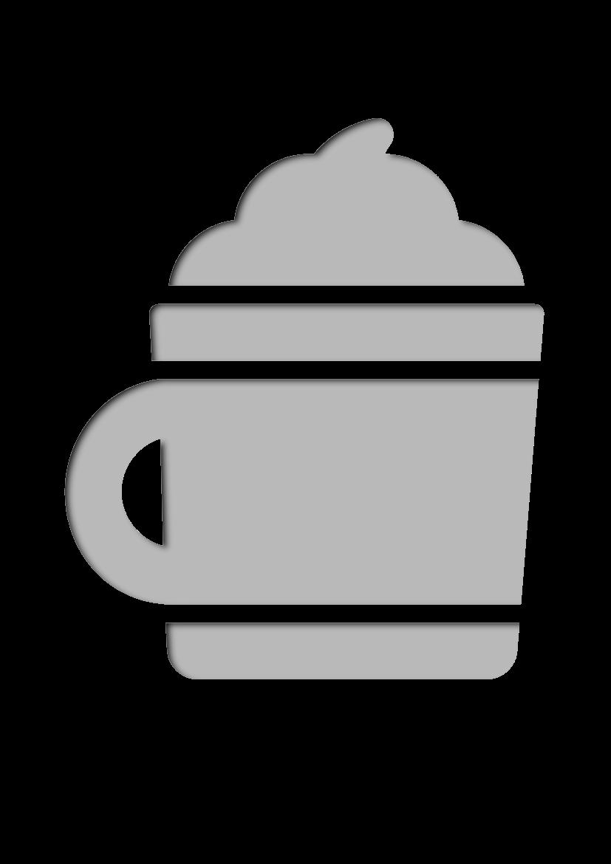 Pochoir Cafe Chocolat