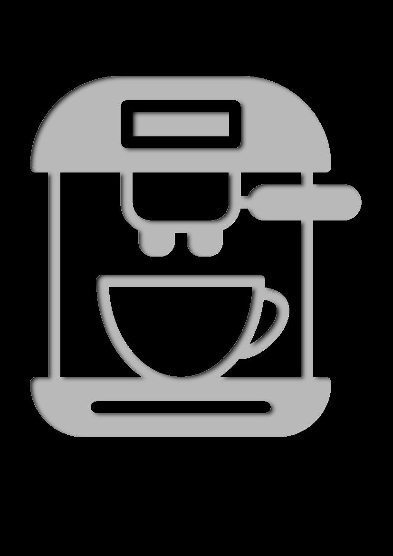 Pochoir Cafe Cafeti�re