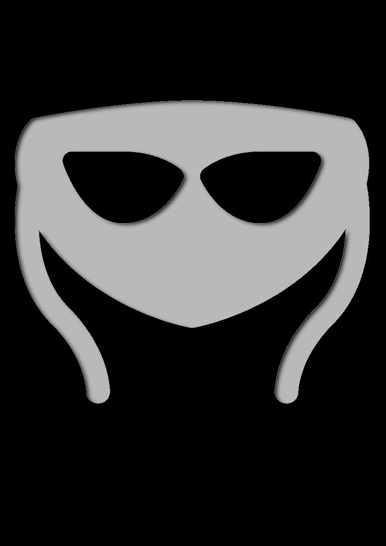 Pochoir Carnaval-et-fete Masque de carnaval