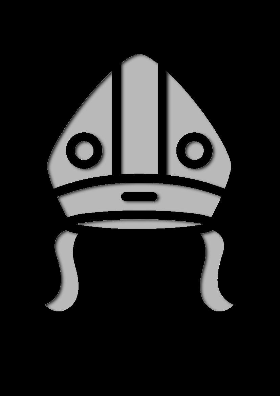 Pochoir Chapeaux Le pape