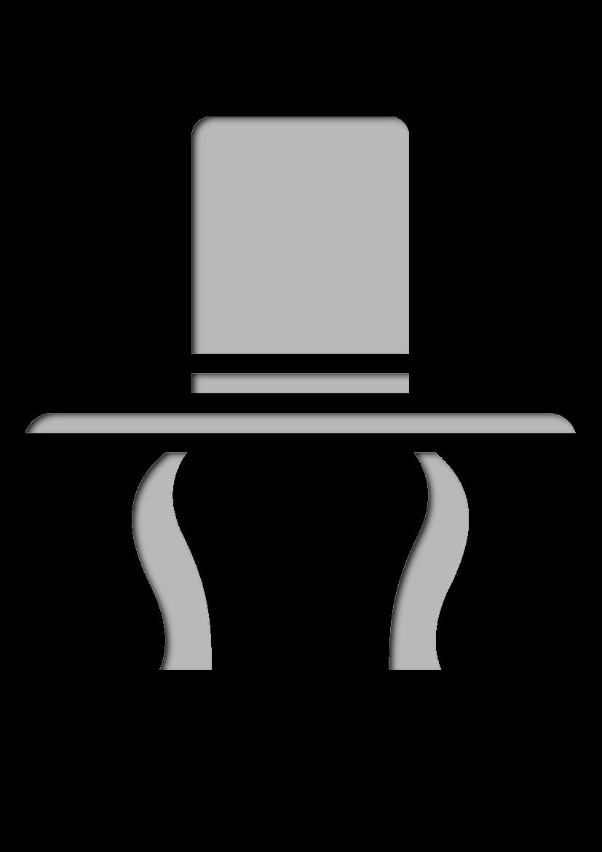 Pochoir Chapeaux Haut-de-forme