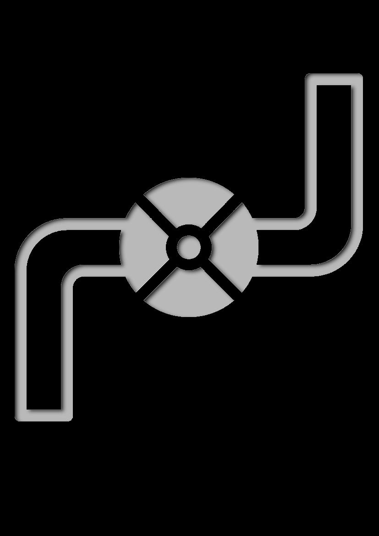 Pochoir Constructions Tuyau de gaz