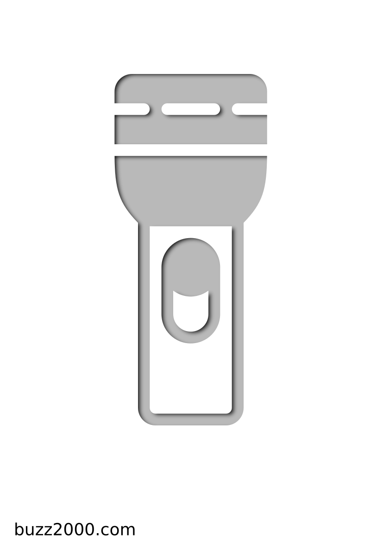 Pochoir Constructions Lampe de poche