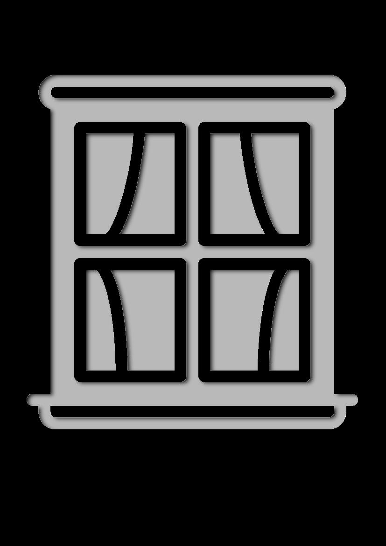 Pochoir Constructions La fenêtre