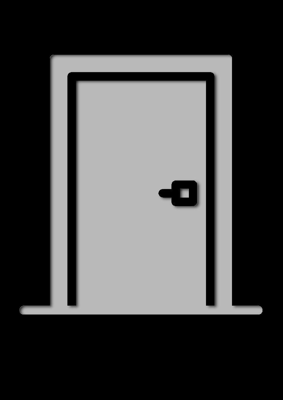 Pochoir Constructions Porte