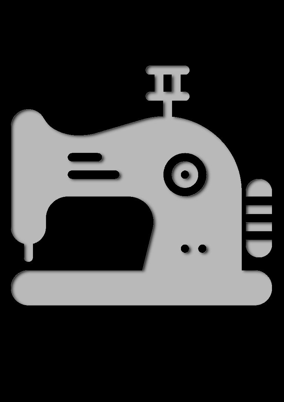 Pochoir Couture Machine à coudre