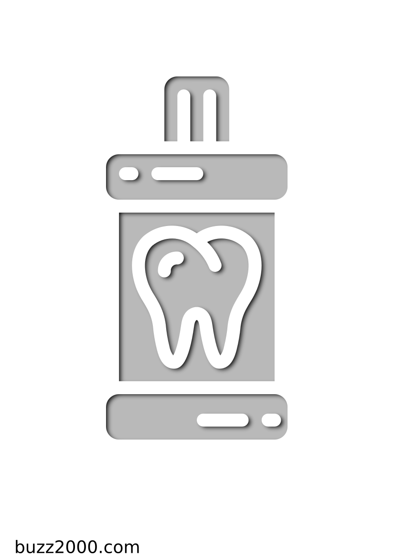 Pochoir Dentisterie Bain de bouche
