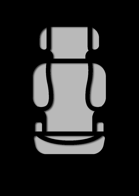 Pochoir Education-des-enfants Siège de voiture