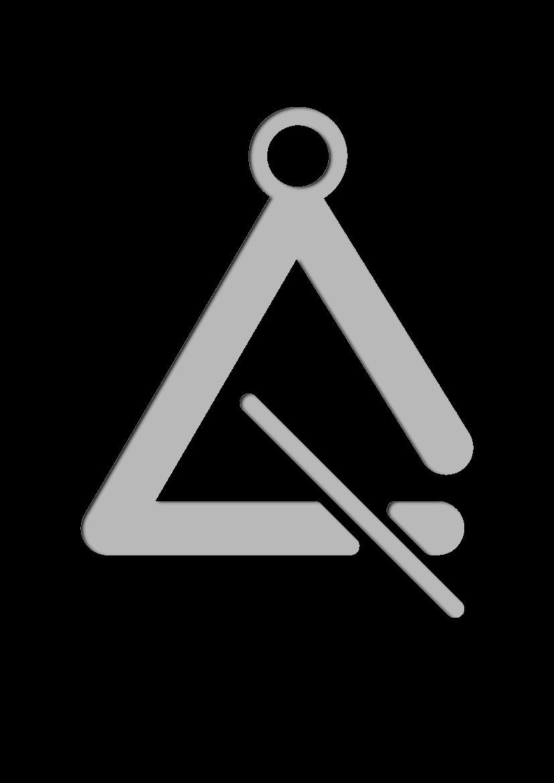 Pochoir Ensemble-de-musique Triangle