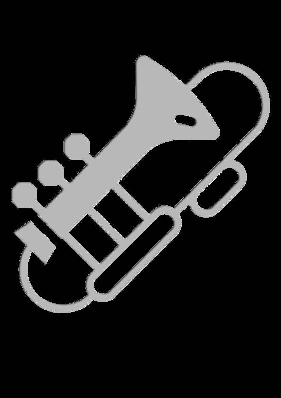 Pochoir Ensemble-de-musique Trombone