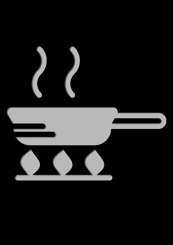 Pochoir Gastronomie La po�le